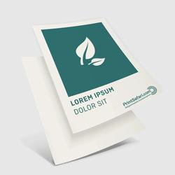 Flyers éco/papier naturel imprimés recto